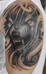 Профессиональное художественное тату