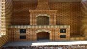 Строительство уличных печных комплексов специалистами.