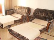 два дивана,  раскладываются,  цвет-коричневый